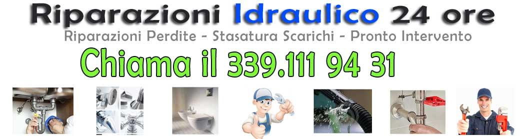 339.1119431 Idraulico Urgente